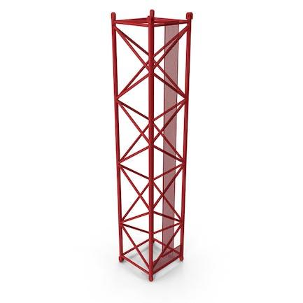 Crane L Intermediate Section 12m Red