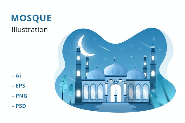 Thumbnail for Mosque Illustration