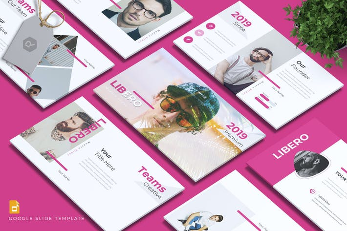 Cover Image For LIBERO - Company Profile Google Slides Template