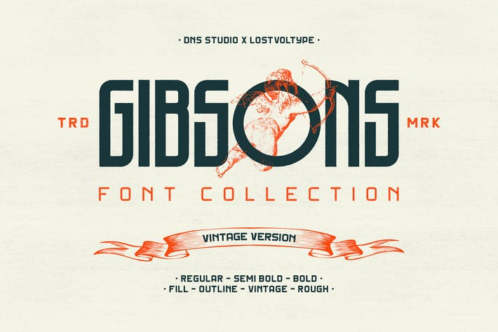 Cover Image For Gibsons Vintage