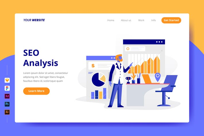 Cover Image For SEO Analysis - Landing Page