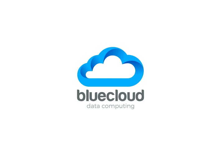 Thumbnail for Logo Cloud computing design