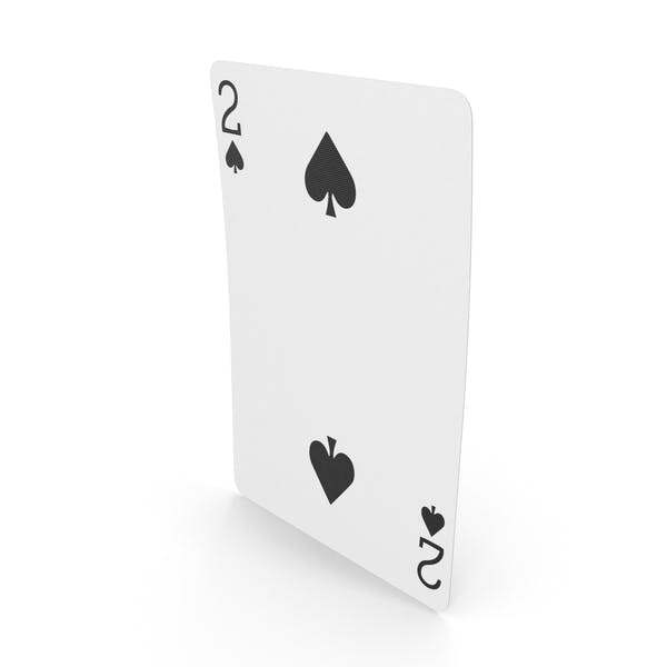Playing Cards 2 of Spades