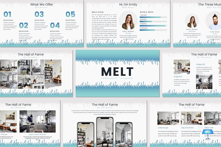 Thumbnail for MELT - Keynote Template