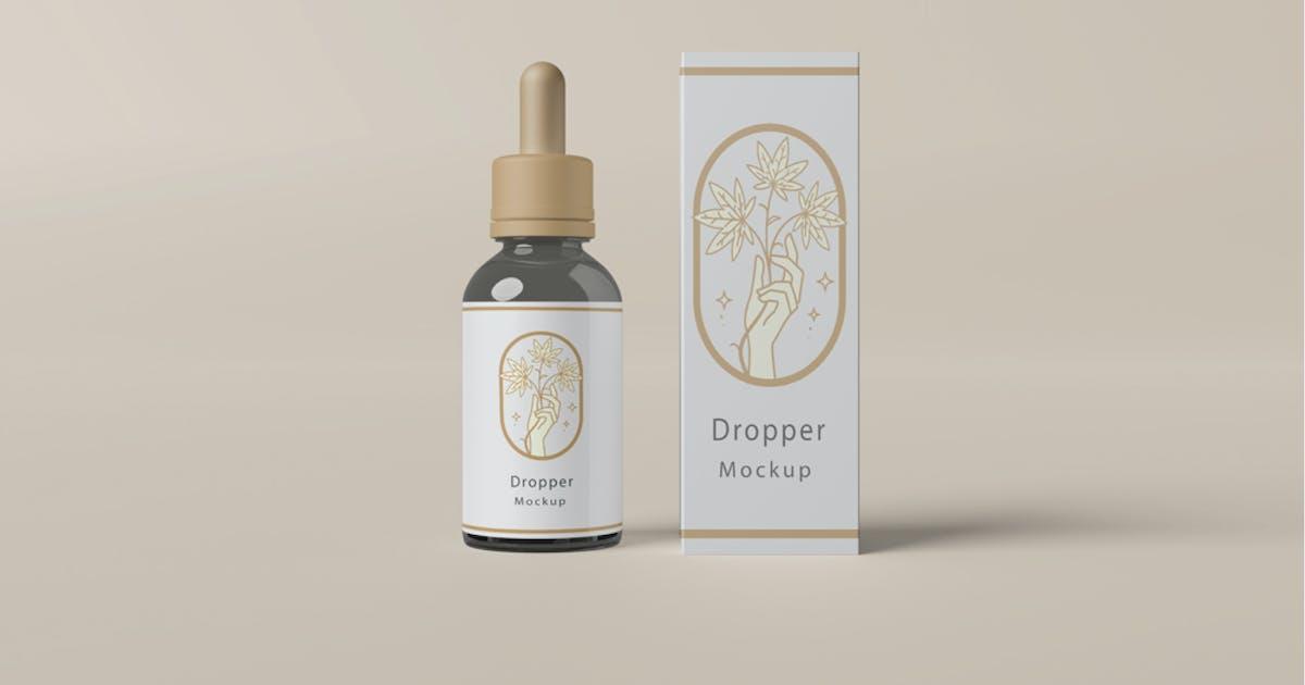 Download Dropper Bottle Mock-Up by alhaytar