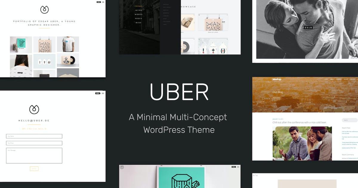 Download UBER - Minimal Multi-Concept WordPress Theme by tommusrhodus
