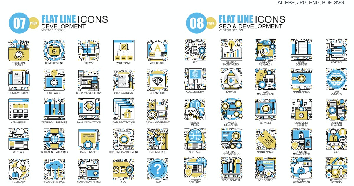 Download Line icons by Unknow