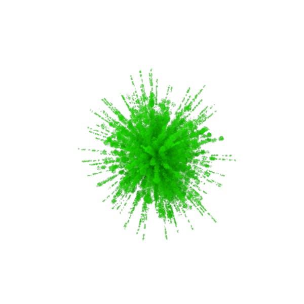 Green Smoke Explosion