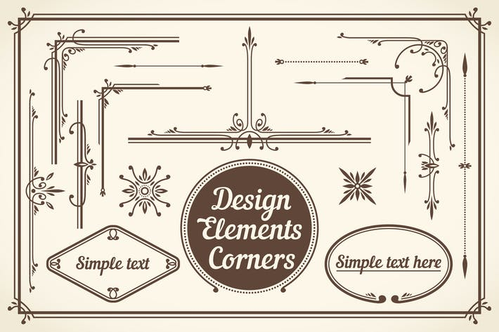 Cover Image For Design Elements Corners