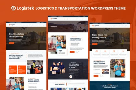 Logistek - Logistics & Transportation WordPress