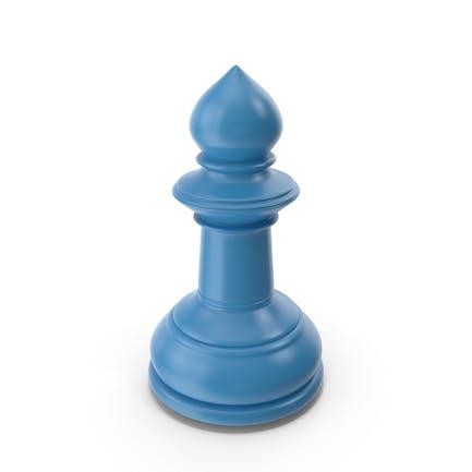 Schach Pawn Blue