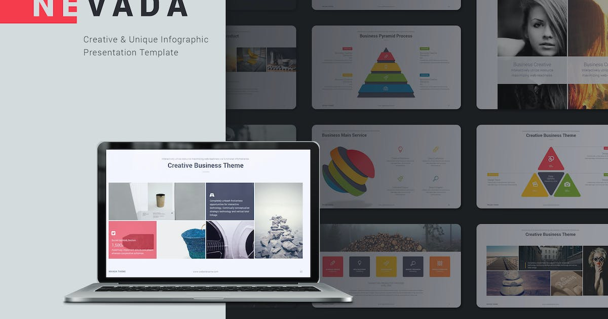 Download Nevada Creative Template by SimpleSmart