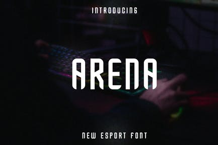 Arena Esport Font