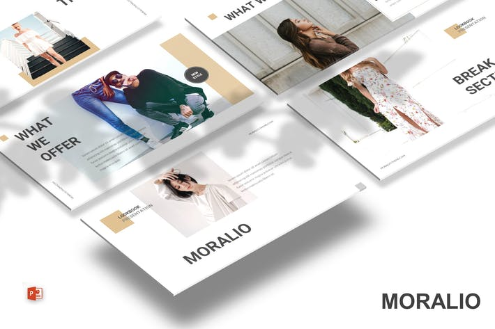Thumbnail for Moralio - Powerpoint Template