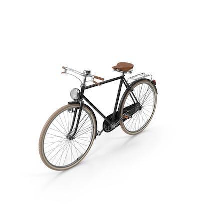 Черный Винтаж Велосипед