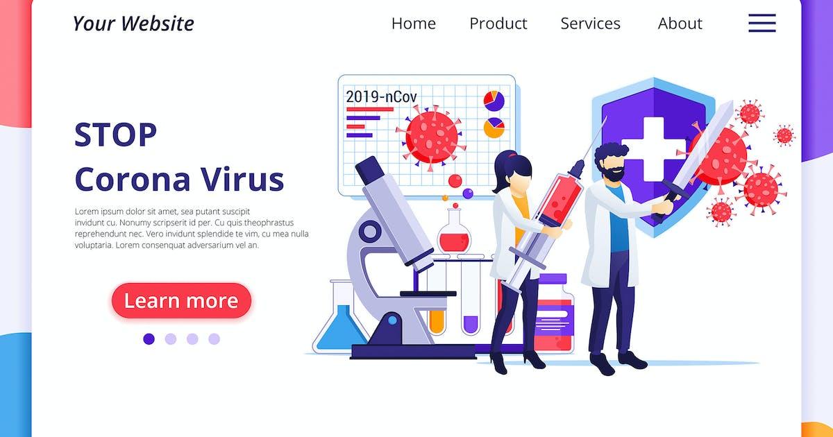 Download Corona Virus Illustration - Agnytemp by GranzCreative