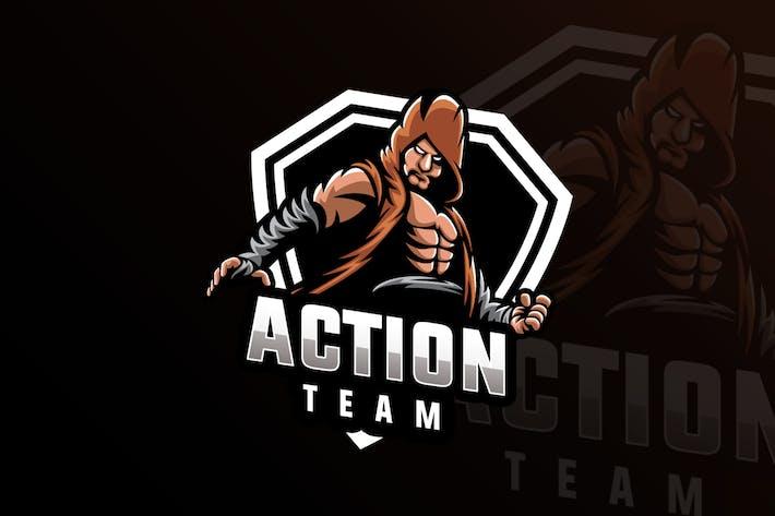 Thumbnail for Mascotte de l'équipe d'action et Logo de jeu eSports