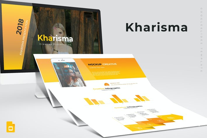 Thumbnail for Kharisma - Google Slide Template