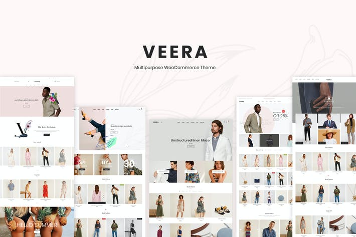 Thumbnail for Veera – Multipurpose WooCommerce Theme