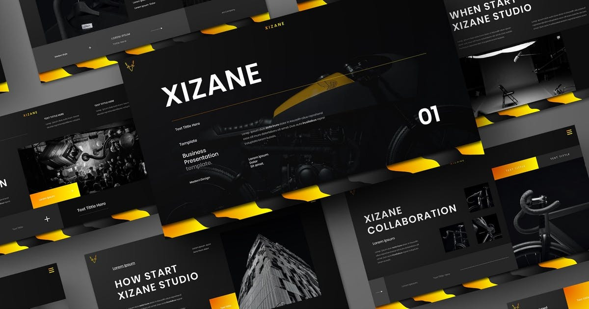 Download Xizane – Business PowerPoint Template by DensCreativeStudio