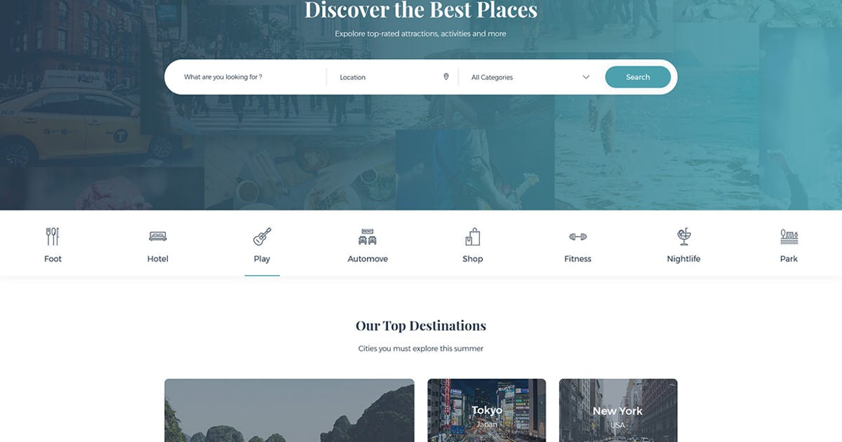 Download Dailist - Directory & Listing HTML Template by themesflat