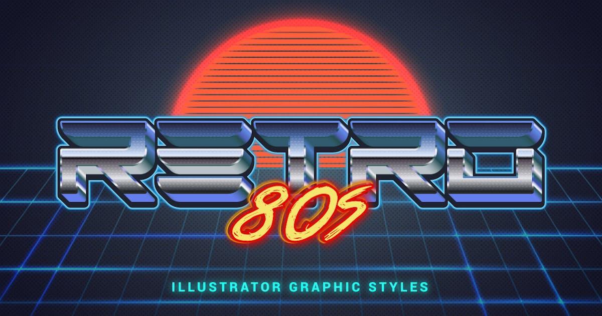Download 80s Retro Illustrator Styles by Minhaj