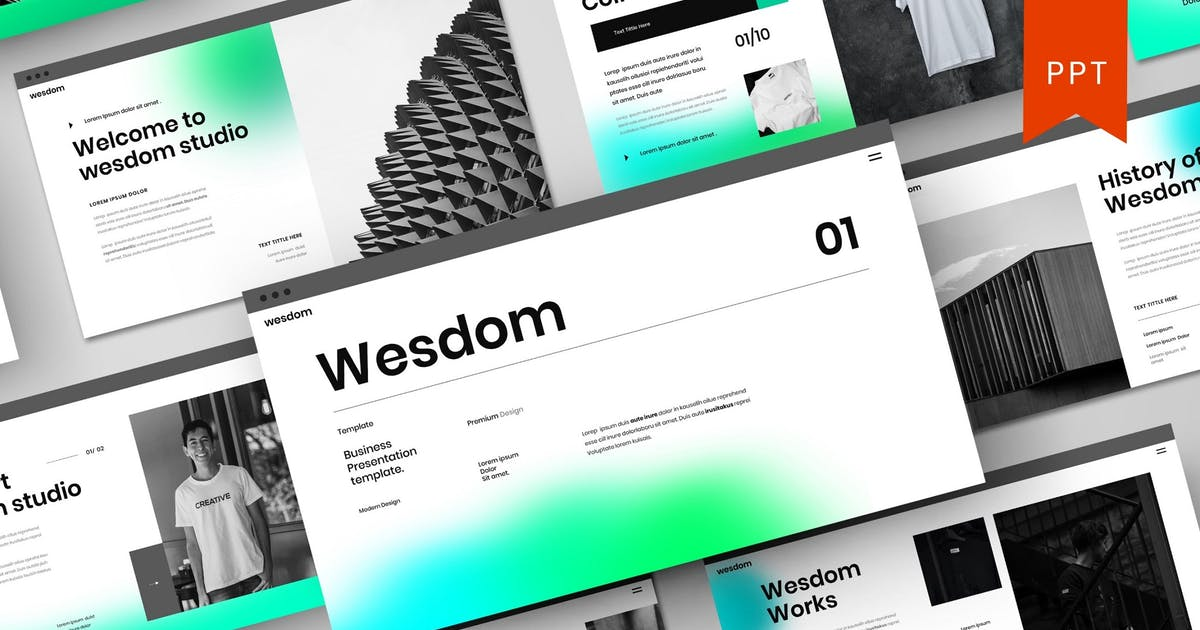 Download Wesdom – Business PowerPoint Template by DensCreativeStudio
