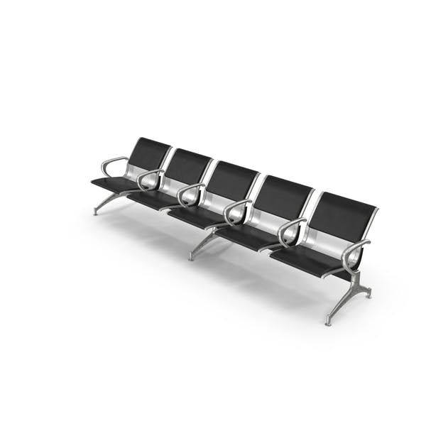 Airport Row of Chairs