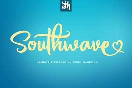 Southwave - Fuente manuscrita