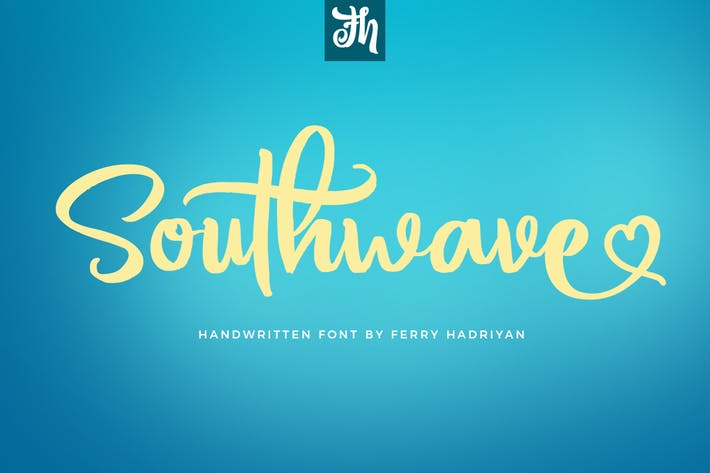 Thumbnail for Southwave - Handwritten Font