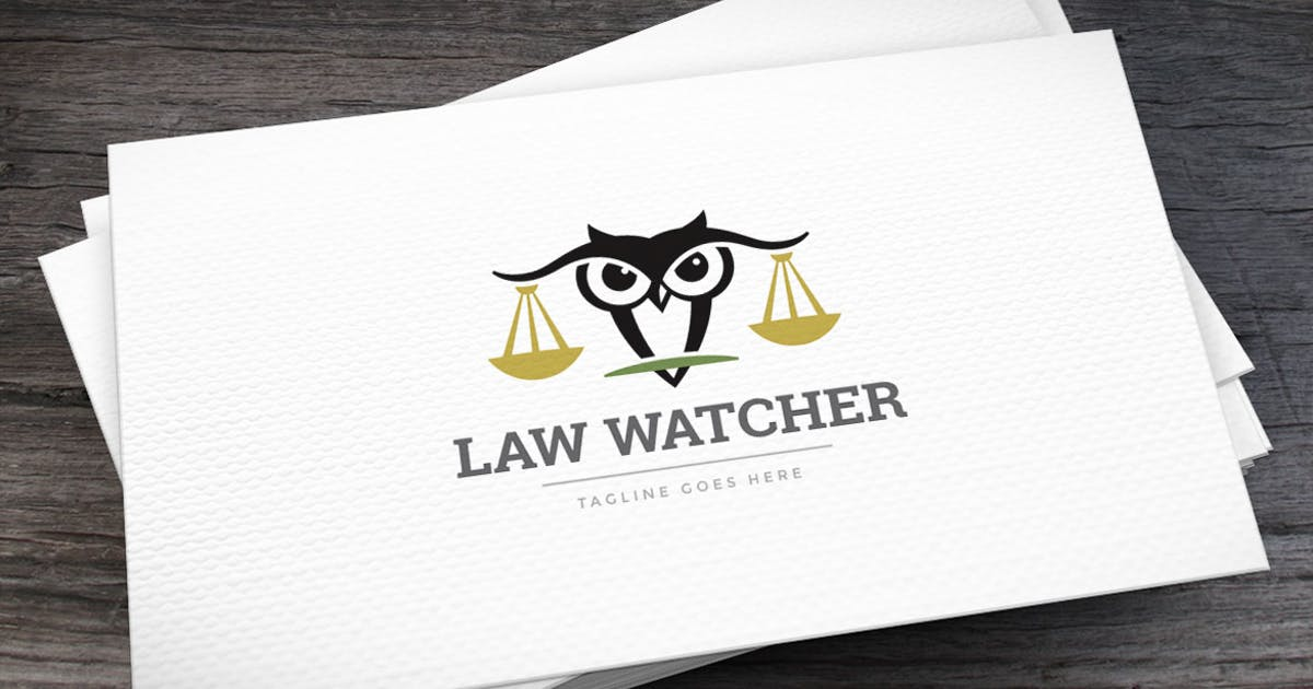 Download Law Watcher Logo Template by empativo