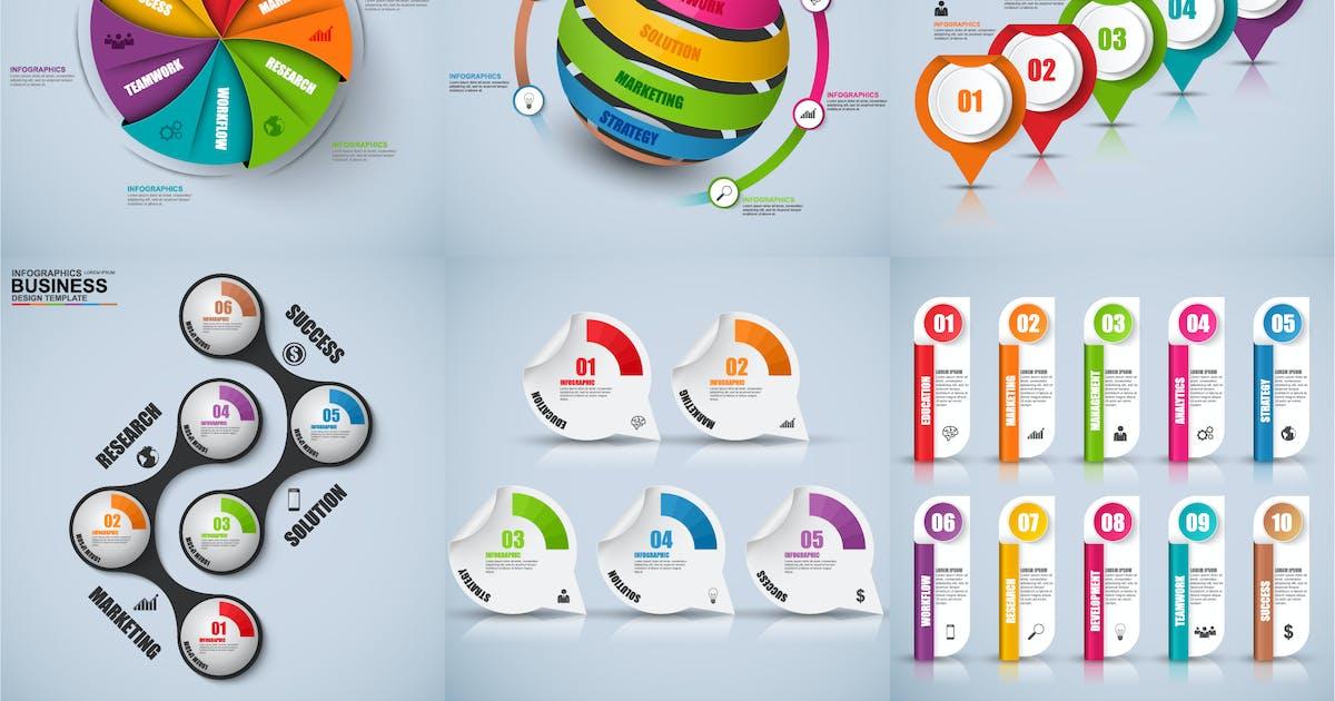 Download Business 3D Infographics by alexdndz