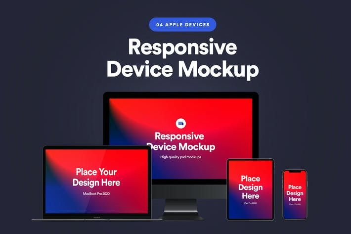 Thumbnail for Responsive Device Mockup 4.0