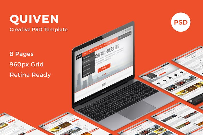 All the templates you can download on envato elements quiven creative psd template toneelgroepblik Gallery