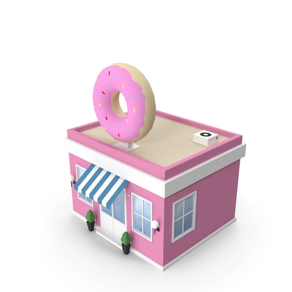 Магазин пончиков