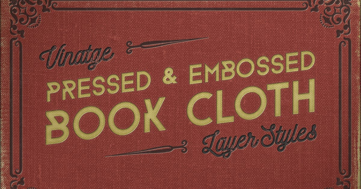 Download Vintage Pressed Book Cloth Styles+ by JRChild