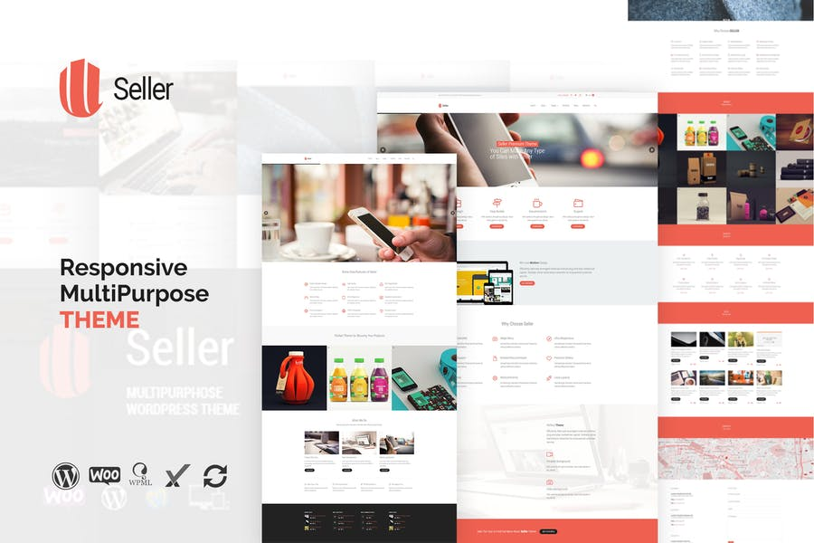 Seller - Responsive MultiPurpose WordPress Theme
