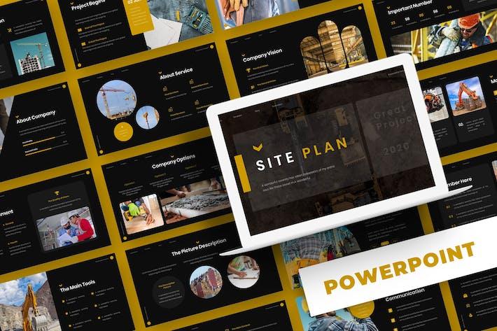 Thumbnail for План сайта - Шаблон Powerpoint