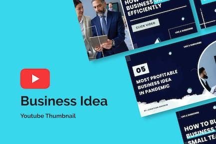 Business Idea Youtube Thumbnail