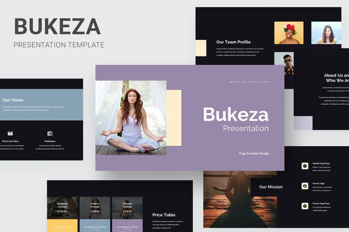 Thumbnail for Bukeza - Yoga & Meditation Powerpoint