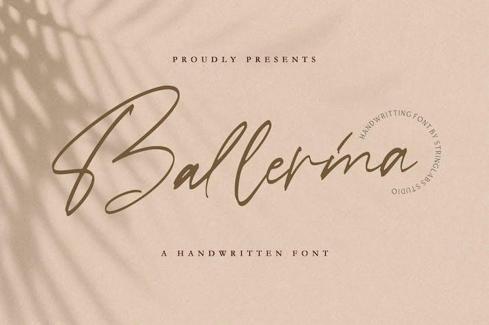 Thumbnail for Ballerina - Signature Script Font