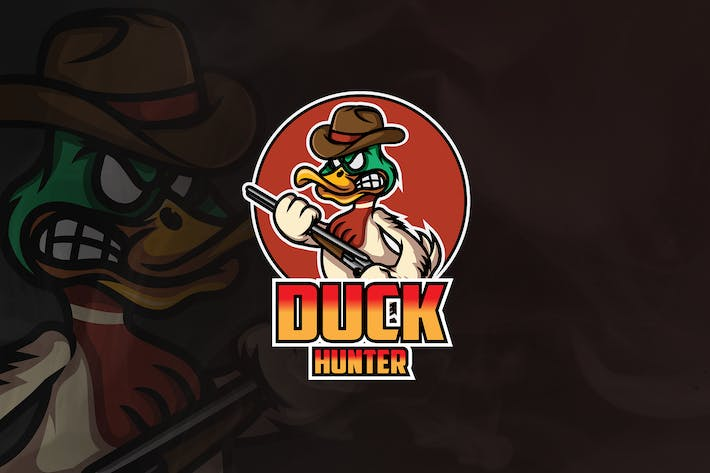 Thumbnail for Duck Hunter - Mascot & Esport Logo