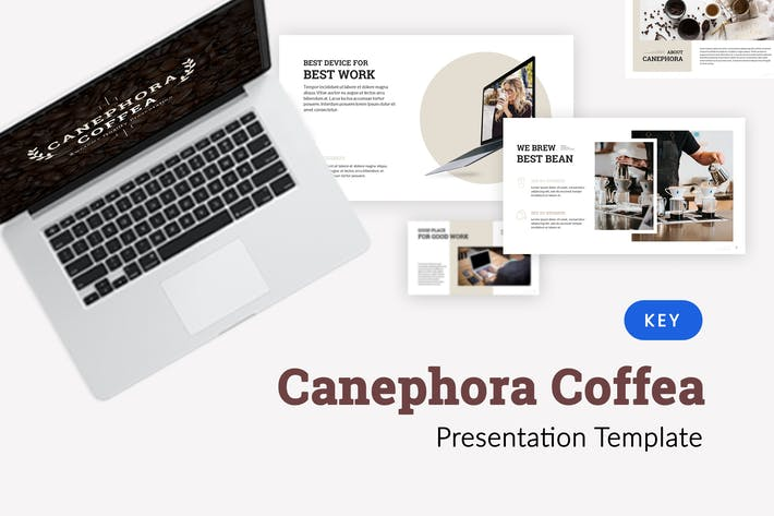 Thumbnail for Canephora - Cafe Keynote Template