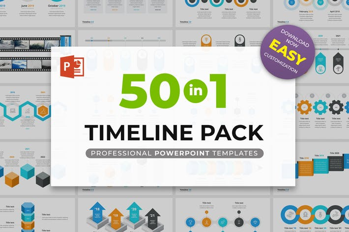 Thumbnail for Timeline 2.0 for PowerPoint