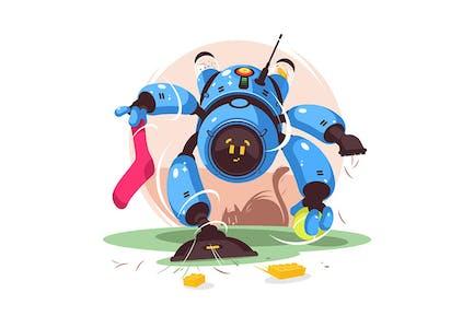 Modern Robot Cleaner