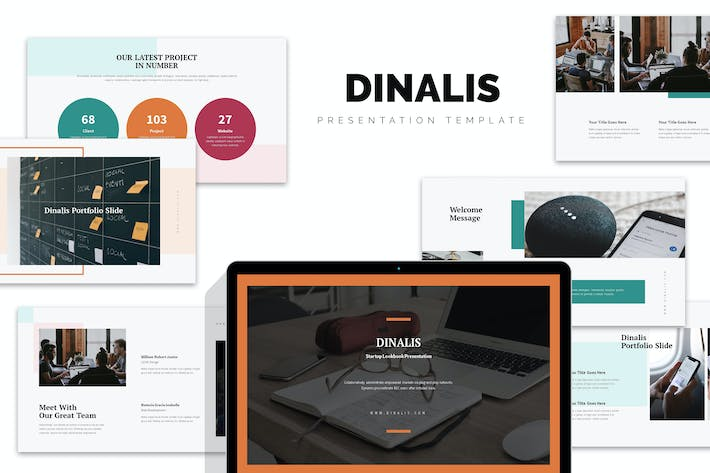 Thumbnail for DInalis : Startup Business Plan Powerpoint