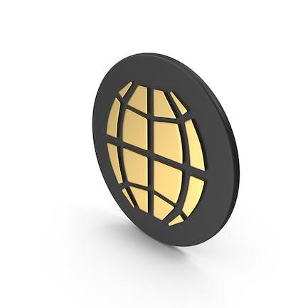 Web Icon Gold
