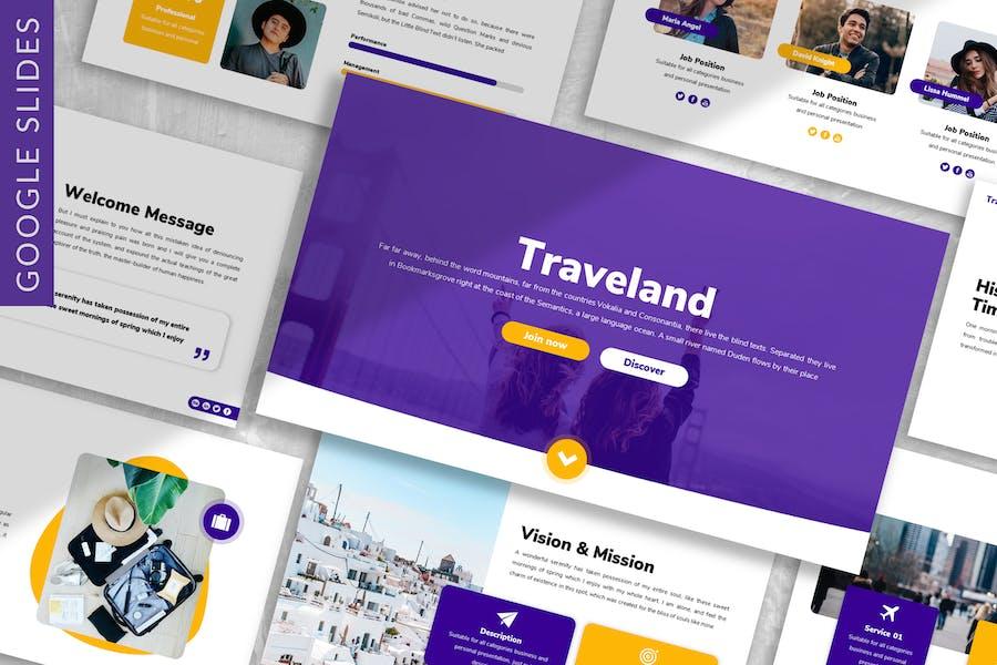 Traveland - Business Google Slide Template