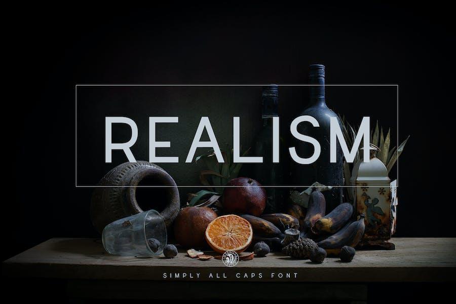 Realism Font