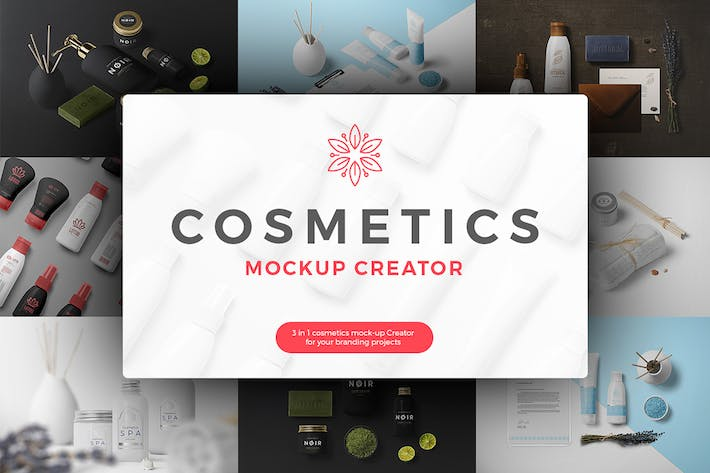 Cover Image For Cosmetics Mockup Creator